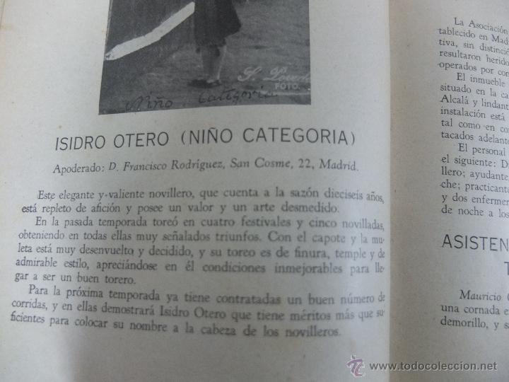 Libros antiguos: CURIOSO LIBRO INFORMATIVO DE LAS CORRIDAS DE TOROS DE MADRID ,TETUAN VISTA ALEGRE,EXTRANJERO-1932 - Foto 11 - 46896288