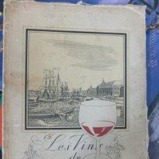 Libros antiguos: LES VINS DE BORDEAUX-55 PG LAMINAS . Lote 46896433