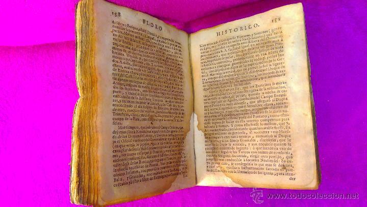 Libros antiguos: FLORO HISTORICO DE LA GUERRA SAGRADA CONTRA TURCOS, FCO FABRO BREMUNDAN 1686 - Foto 3 - 46911165