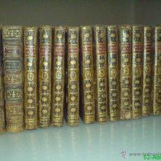 Libros antiguos: PLUCHE, ABAD M. - ESPECTÁCULO DE LA NATURALEZA - 16 TOMOS, 204 LÁMINAS (COMPLETO). Lote 46929248