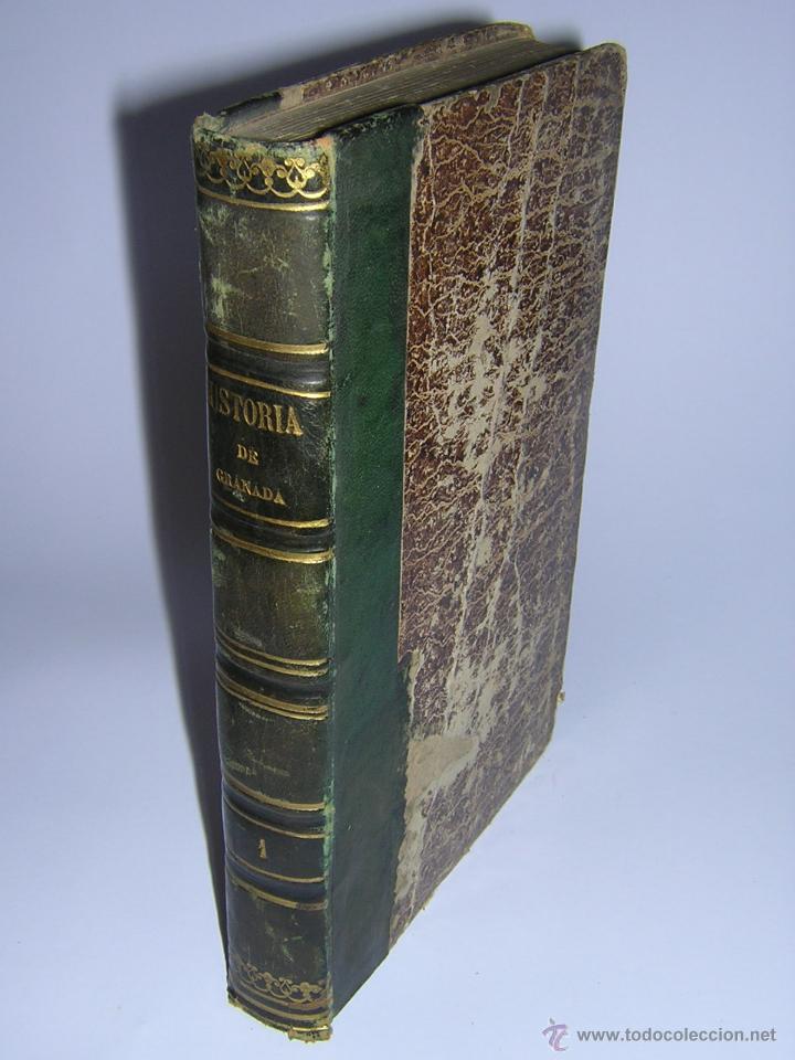 1843 - LAFUENTE ALCANTARA - HISTORIA DE GRANADA TOMO I (Libros Antiguos, Raros y Curiosos - Historia - Otros)