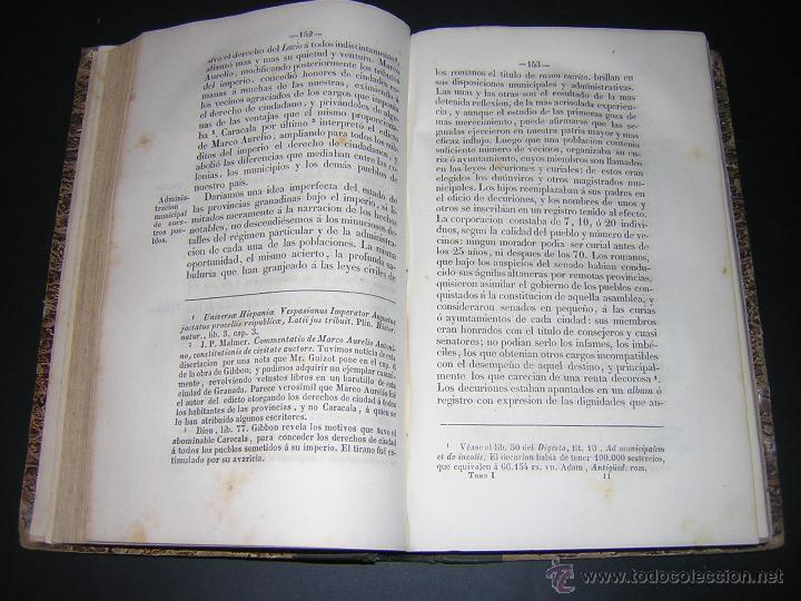 Libros antiguos: 1843 - LAFUENTE ALCANTARA - HISTORIA DE GRANADA TOMO I - Foto 4 - 46987845