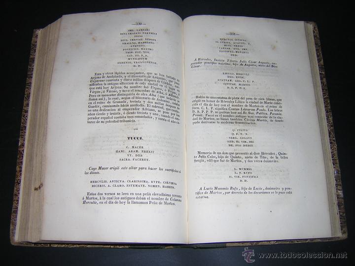Libros antiguos: 1843 - LAFUENTE ALCANTARA - HISTORIA DE GRANADA TOMO I - Foto 5 - 46987845