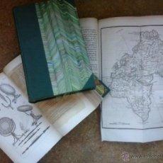 Libros antiguos: 3 VOLÚMENES DE OEUVRES COMPLETES DE BUFFON (1819) / COMTE DE LACEPÈDE. RARA EDICIÓN... Lote 47112943