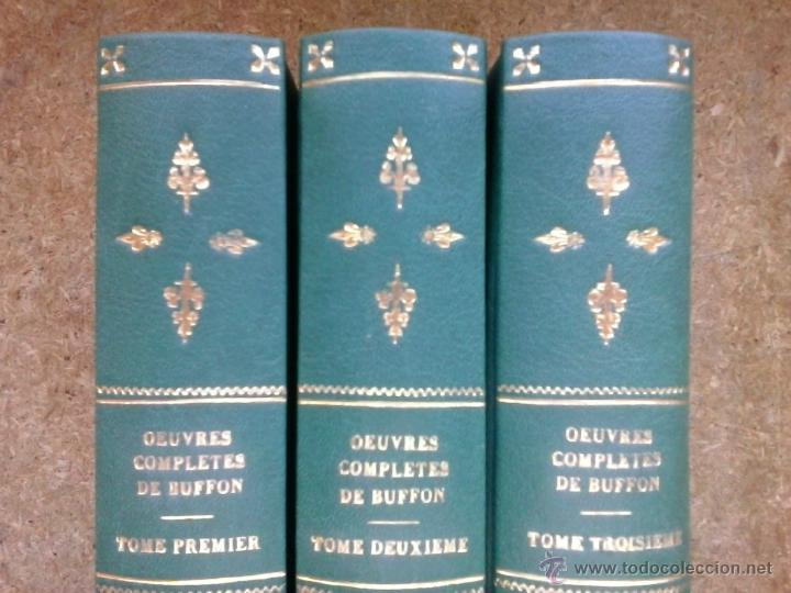 Libros antiguos: 3 volúmenes de Oeuvres completes de Buffon (1819) / Comte de Lacepède. Rara edición.. - Foto 6 - 47112943