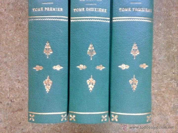 Libros antiguos: 3 volúmenes de Oeuvres completes de Buffon (1819) / Comte de Lacepède. Rara edición.. - Foto 7 - 47112943