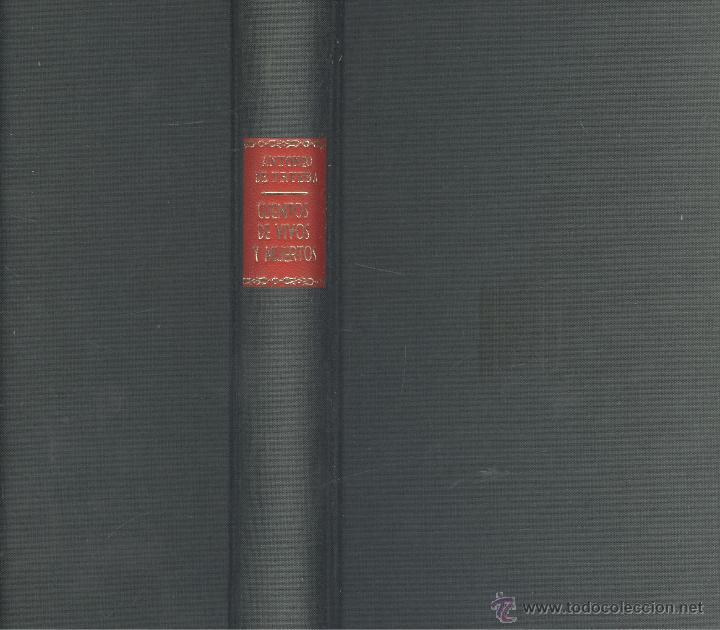 Libros antiguos: Antonio de Trueba. Cuentos de vivos y muertos. Col. Obras de Antonio de Trueba. Madrid, 1909. - Foto 2 - 47193996
