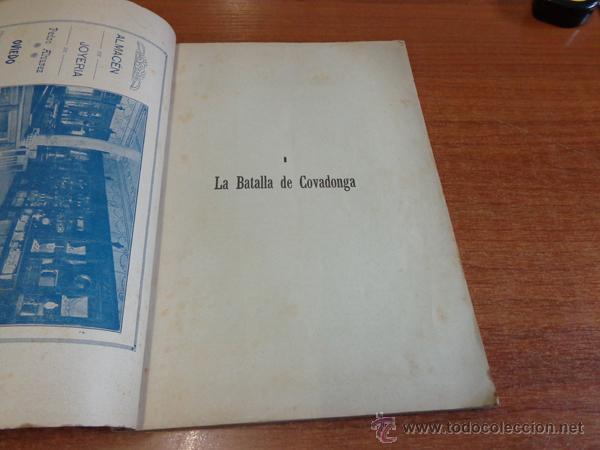 Libros antiguos: BATALLA Y SANTUARIO DE COVADONGA. TRADICION, MONUMETO, HISTORIA. - Foto 2 - 47247856