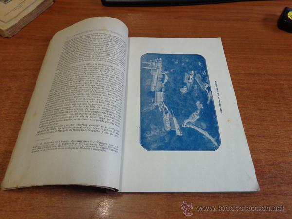 Libros antiguos: BATALLA Y SANTUARIO DE COVADONGA. TRADICION, MONUMETO, HISTORIA. - Foto 3 - 47247856