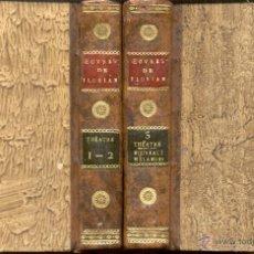 Libros antiguos: THÉATRE DE M. FLORIAN - 2 TOMOS - AÑO 1799. Lote 47356097