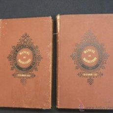 Libros antiguos: 1891 - MANUEL DU MANCEUVRIER - TOME II Y TOME III - LIBRAIRIE MARITIME ET COLONIALE - EN FRANCES - . Lote 47364521