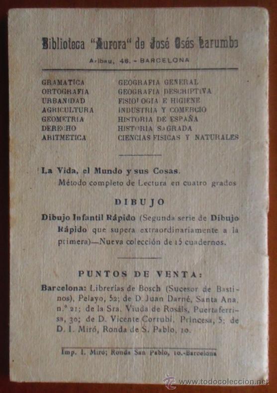 Libros antiguos: José Osés Larumbe. Ortografía. Cursos Completos de Enseñanza. Barcelona. - Foto 2 - 47439860