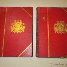 Libros antiguos: PENSAMIENTOS Y RECUERDOS DE OTON PRINCIPE DE BISMARCK - OTON PRINCIPE DE BISMARCK - 1898 (2 VOL). Lote 47512589