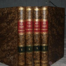 Alte Bücher - Aventuras de Gil Blas de Santillana. Madrid 1840 - 47578226