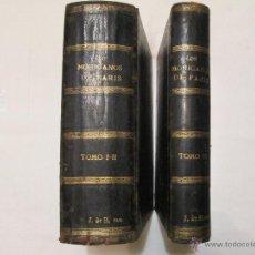Libros antiguos: LOS MOHICANOS DE PARIS - ALEJANDRO DUMAS (PADRE) - 1859 / 1861 (3 TOMOS EN 2 VOL.). Lote 47630277