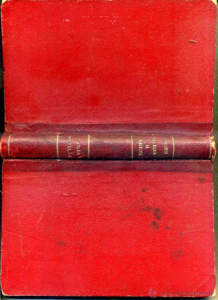 Libros antiguos: R. DE VIVERO Y VELASCO : RELACIÓN DE LAS ISLAS FILIPINAS / FERNÁN CABALLERO : TRES NOVELAS (1904) - Foto 2 - 47648387