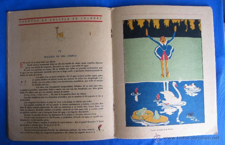 Libros antiguos: CUENTOS DE CALLEJA EN COLORES. SERIE PINOCHO. PINOCHO DOMADOR. EDITORIAL SATURNINO CALLEJA, 1919. - Foto 3 - 47655192