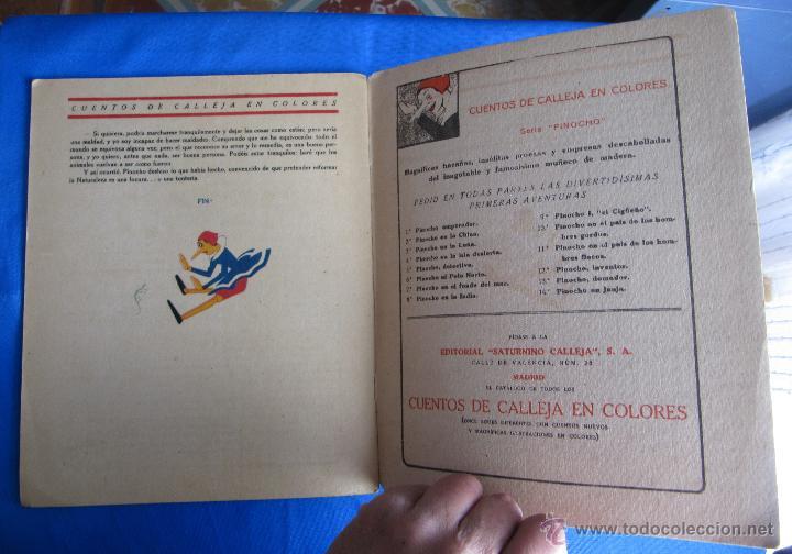 Libros antiguos: CUENTOS DE CALLEJA EN COLORES. SERIE PINOCHO. PINOCHO DOMADOR. EDITORIAL SATURNINO CALLEJA, 1919. - Foto 4 - 47655192