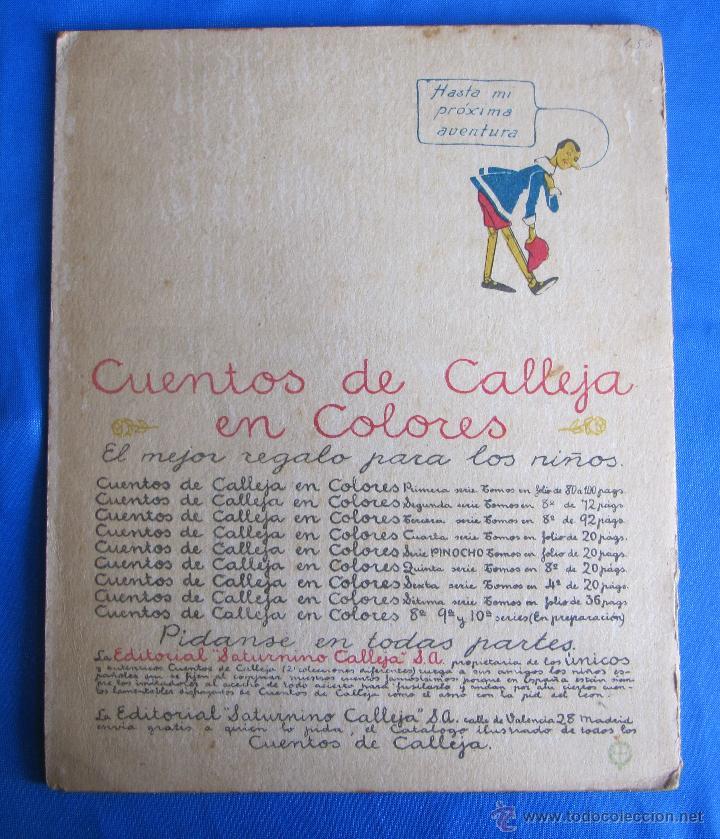 Libros antiguos: CUENTOS DE CALLEJA EN COLORES. SERIE PINOCHO. PINOCHO DOMADOR. EDITORIAL SATURNINO CALLEJA, 1919. - Foto 5 - 47655192