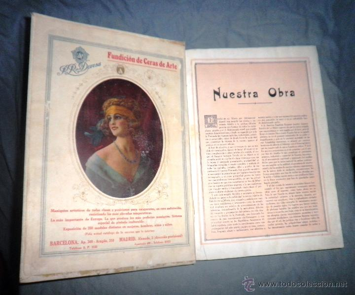 Libros antiguos: ESPAÑA EN LA MANO GUIA ILUSTRADA - AÑO 1928 - MONUMENTAL OBRA ILUSTRADA. - Foto 3 - 47666065