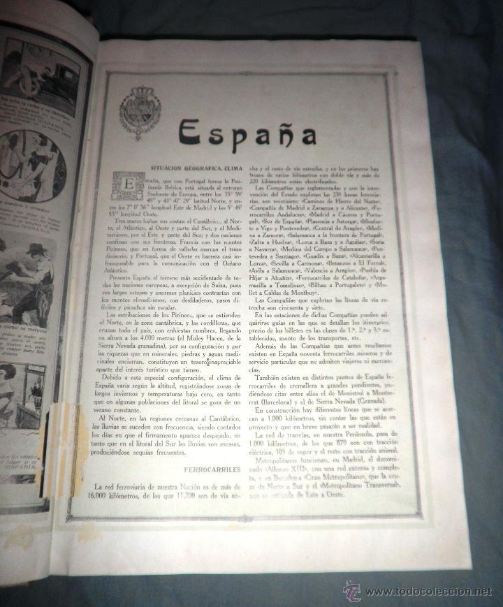 Libros antiguos: ESPAÑA EN LA MANO GUIA ILUSTRADA - AÑO 1928 - MONUMENTAL OBRA ILUSTRADA. - Foto 4 - 47666065