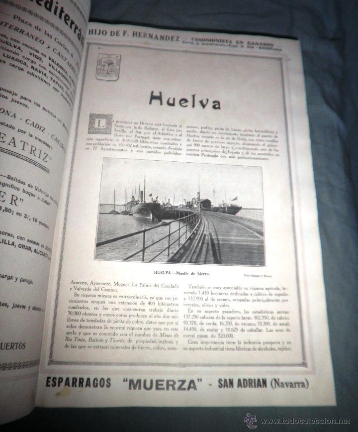 Libros antiguos: ESPAÑA EN LA MANO GUIA ILUSTRADA - AÑO 1928 - MONUMENTAL OBRA ILUSTRADA. - Foto 6 - 47666065