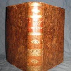 Alte Bücher - LA CREACION - JUAN MIR - AÑO 1891 - PLENA PIEL DE EPOCA. - 47666159