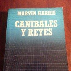Libros antiguos: CANIBALES Y REYES.- MARVIN HARRIS. Lote 47696460