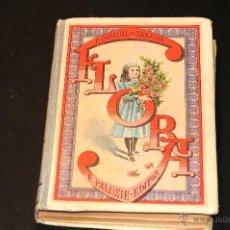 Libros antiguos: FLORA LA EDUCACION DE UNA NIÑA PILAR PASCUAL DE SANJUAN AÑO 1898. Lote 47697602