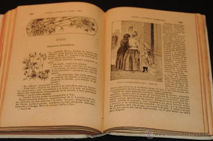 Libros antiguos: FLORA LA EDUCACION DE UNA NIÑA PILAR PASCUAL DE SANJUAN AÑO 1898 - Foto 5 - 47697602