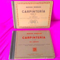 Libros antiguos: NUEVOS MODELOS DE CARPINTERIA, J. ARTIGAS 1911. Lote 47702818