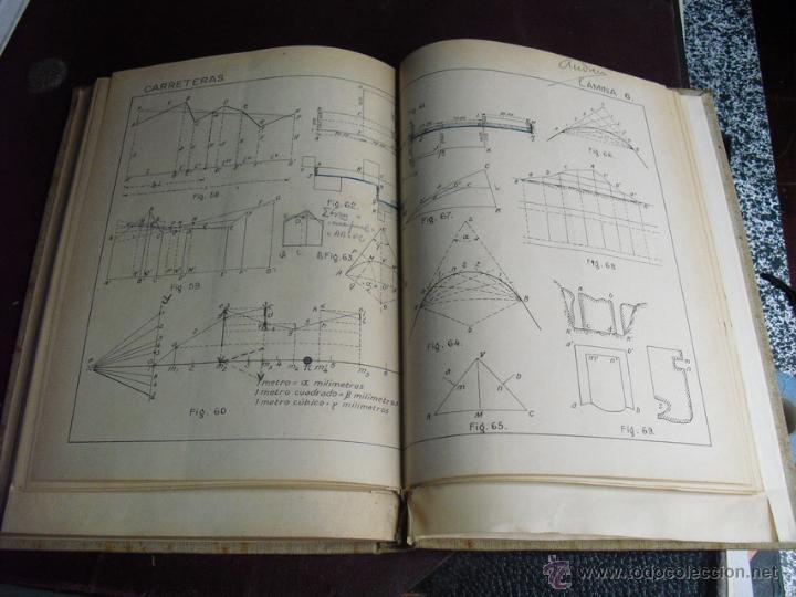 Libros antiguos: 1924 VIAS DE COMUNICACION CARRETERAS - Foto 4 - 47716376