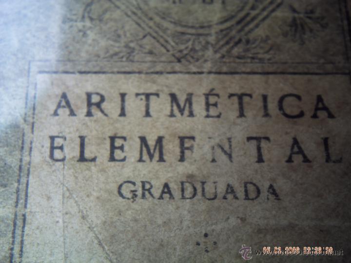 Libros antiguos: ARITMÉTICA ELEMENTAL PRIMER Y SEGUNDO GRADO 1926 ESCUELAS PÍAS. SAMARÁN Y COMPAÑÍA. - Foto 3 - 47772043