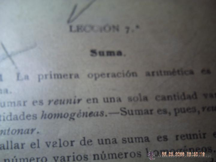Libros antiguos: ARITMÉTICA ELEMENTAL PRIMER Y SEGUNDO GRADO 1926 ESCUELAS PÍAS. SAMARÁN Y COMPAÑÍA. - Foto 4 - 47772043