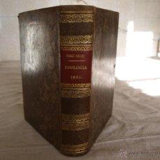Libros antiguos: ELEMENTOS DE ZOOLOGÍA, LAUREANO PÉREZ ARCAS. MADRID, 1861.. Lote 47800485