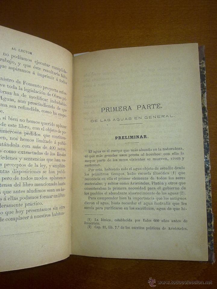 Libros antiguos: MOVÍSIMAS LEYES DE AGUAS, PUERTOS Y CANALES - Foto 3 - 47841998