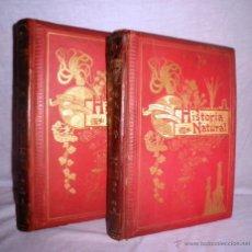Libros antiguos - HISTORIA NATURAL - AÑO 1896 - ODON DE BUEN - MONUMENTAL OBRA ILUSTRADA. - 47920255
