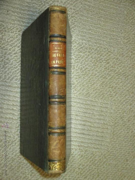 DE FLOR EN FLOR, POR ANTONIO DE TRUEBA, 1882, PRIMERA EDICIÓN, PAÍS VASCO (Libros antiguos (hasta 1936), raros y curiosos - Literatura - Narrativa - Otros)