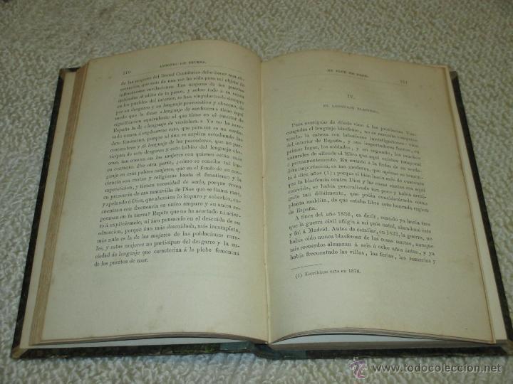 Libros antiguos: De flor en flor, por Antonio de Trueba, 1882, Primera edición, País Vasco - Foto 4 - 47925347