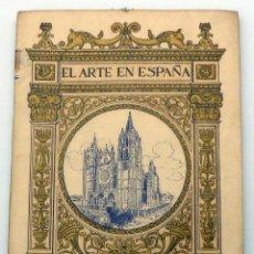 Livros antigos: LA CATEDRAL DE LEÓN EL ARTE EN ESPAÑA Nº 15 ED THOMAS JUAN TORBADO Y FLÓREZ AÑOS 20. Lote 49285346