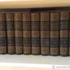 Libros antiguos: HISTORIA UNIVERSAL, CÉSAR CANTÚ, 1883. Lote 47972128