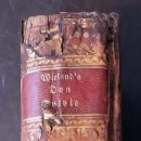 """Libros antiguos: EL QUIJOTE ALEMÁN: 1772 """"DIE ABENTHEUER DES DON SYLVIO VON ROSALVA"""".. Lote 47951775"""