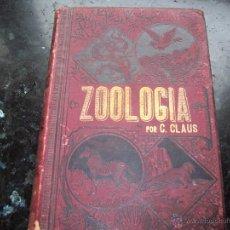 Libros antiguos: LIBRO ZOOLOGIA TOMO I POR C. CLAUS. Lote 48000618