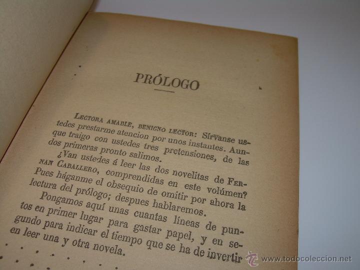 Libros antiguos: LIBRO TAPAS DE PIEL.....UNA EN OTRA....FENAN CABALLERO.....AÑO..1.902 - Foto 6 - 48005487