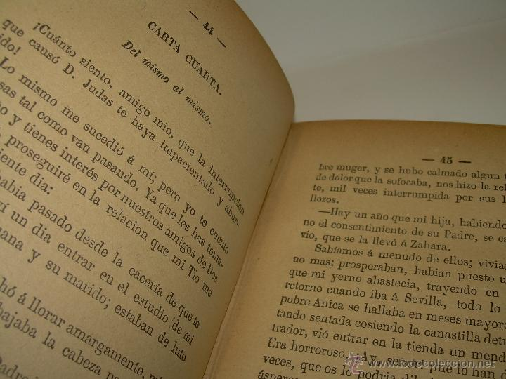 Libros antiguos: LIBRO TAPAS DE PIEL.....UNA EN OTRA....FENAN CABALLERO.....AÑO..1.902 - Foto 7 - 48005487