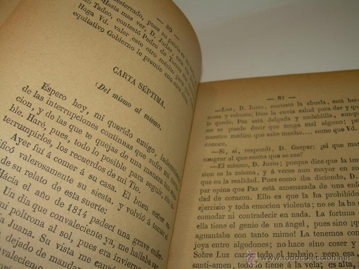 Libros antiguos: LIBRO TAPAS DE PIEL.....UNA EN OTRA....FENAN CABALLERO.....AÑO..1.902 - Foto 8 - 48005487