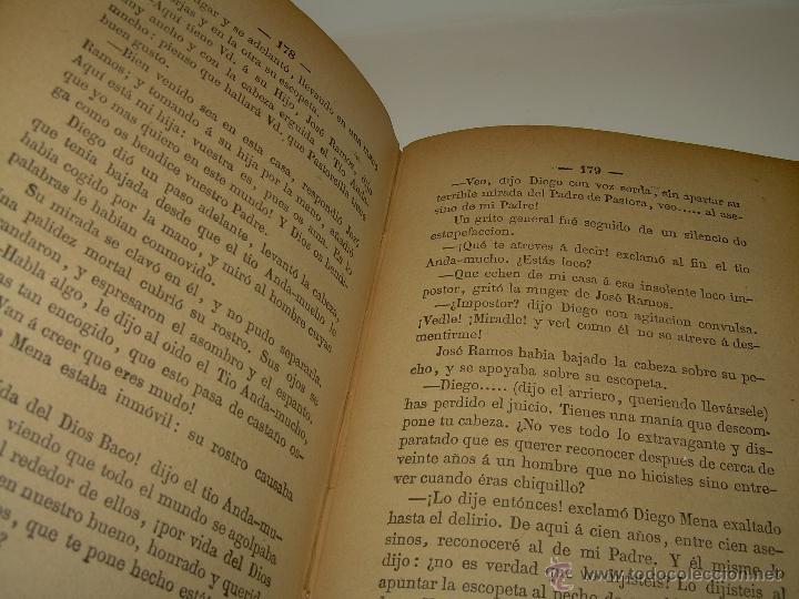 Libros antiguos: LIBRO TAPAS DE PIEL.....UNA EN OTRA....FENAN CABALLERO.....AÑO..1.902 - Foto 9 - 48005487