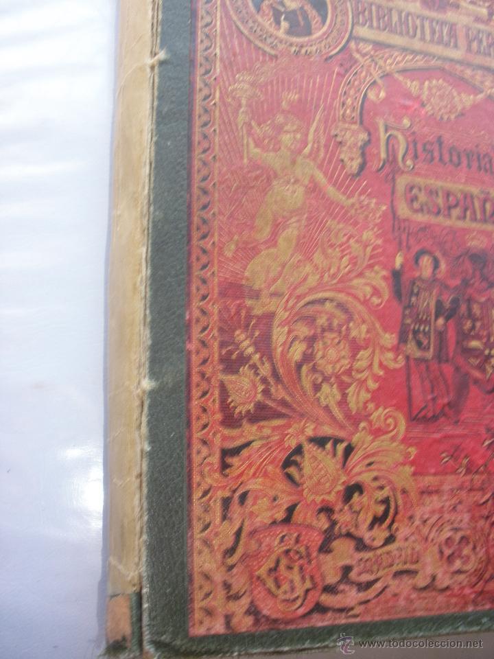 Libros antiguos: BIBLIOTECA PERLA. HISTORIA CRITICA DE ESPAÑA. MANUEL RODRIGUEZ NAVAS. 1899 SATURNINO CALLEJA - Foto 2 - 48015021