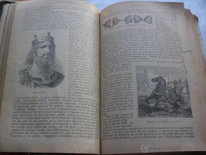 Libros antiguos: BIBLIOTECA PERLA. HISTORIA CRITICA DE ESPAÑA. MANUEL RODRIGUEZ NAVAS. 1899 SATURNINO CALLEJA - Foto 4 - 48015021
