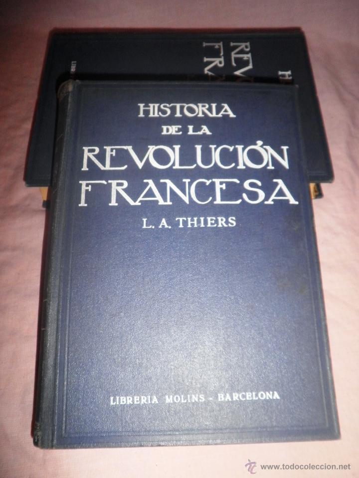 Libros antiguos: HISTORIA DE LA REVOLUCION FRANCESA - THIERS - AÑO 1928 - BELLAS LAMINAS. - Foto 2 - 48055604